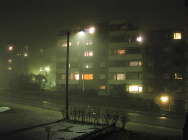 Ghostly neighbors