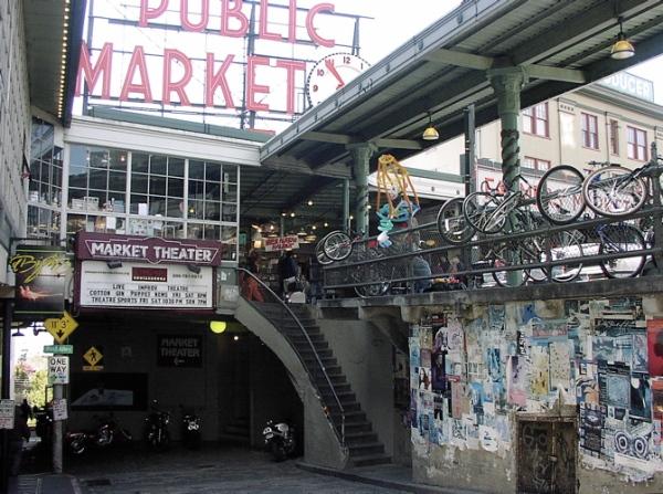Market tunnel