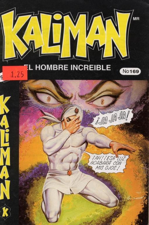 Kaliman kneeling