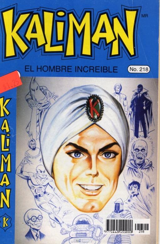 Kaliman's head