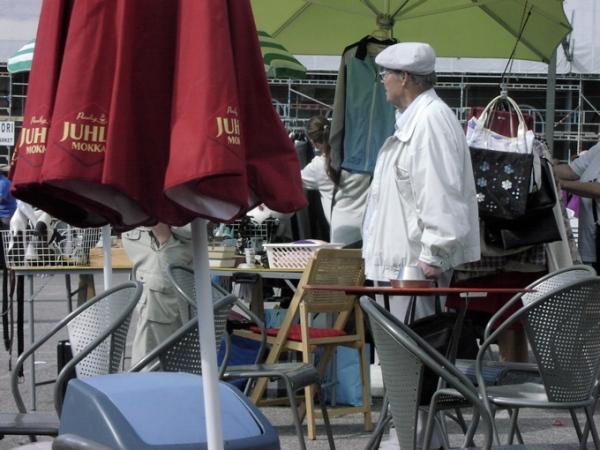 Hietaniemi flea market cafe