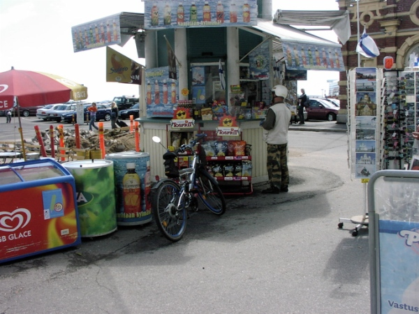 Kiosk at Kauppahalli