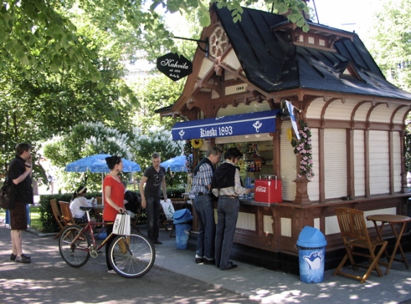 Another Esplanadi kiosk