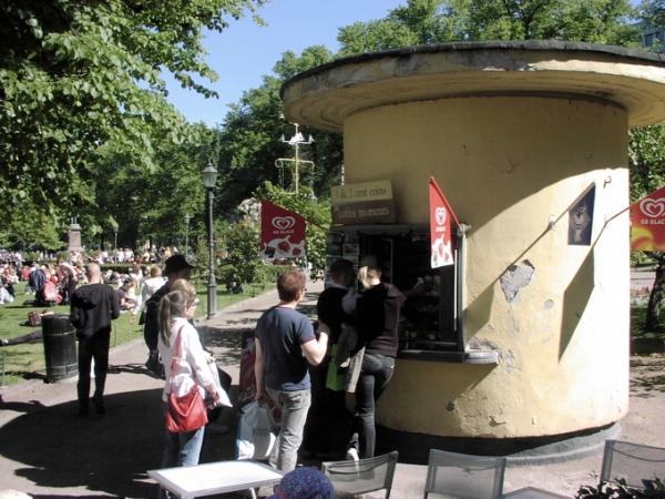 Third Esplanadi kiosk