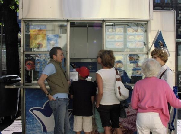 Mannerheimintie ice cream stand