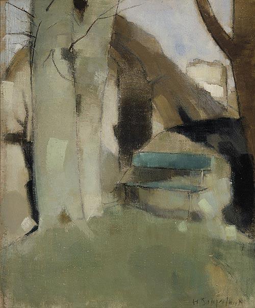 Green Bench, 1928