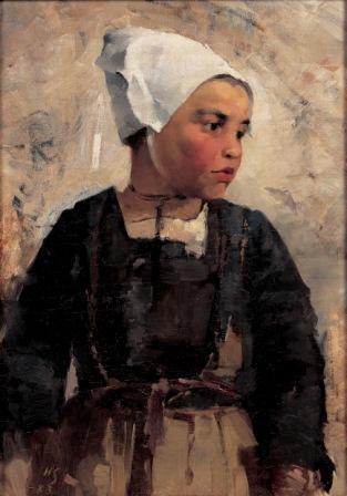 Brittainy girl, 1883