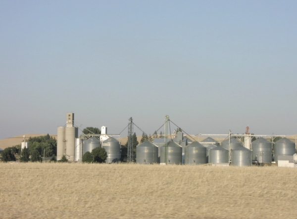 Palouse silos
