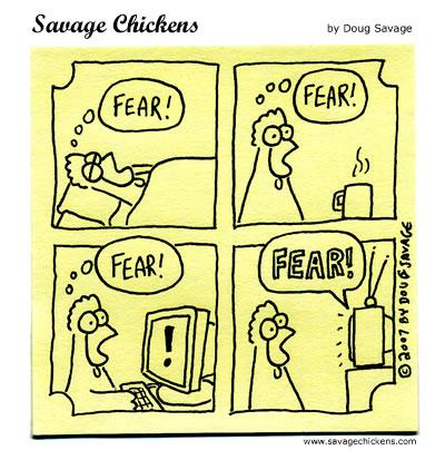 Chicken Fear Day