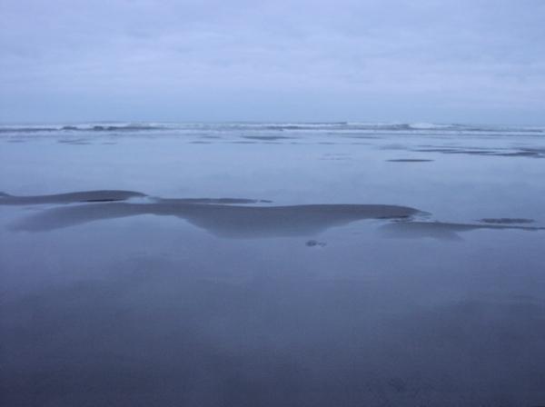 Benson Beach at dusk