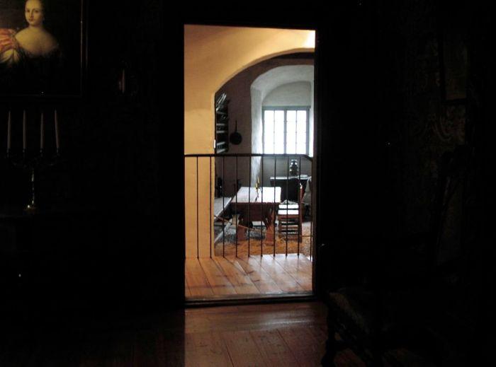 Castle passageway
