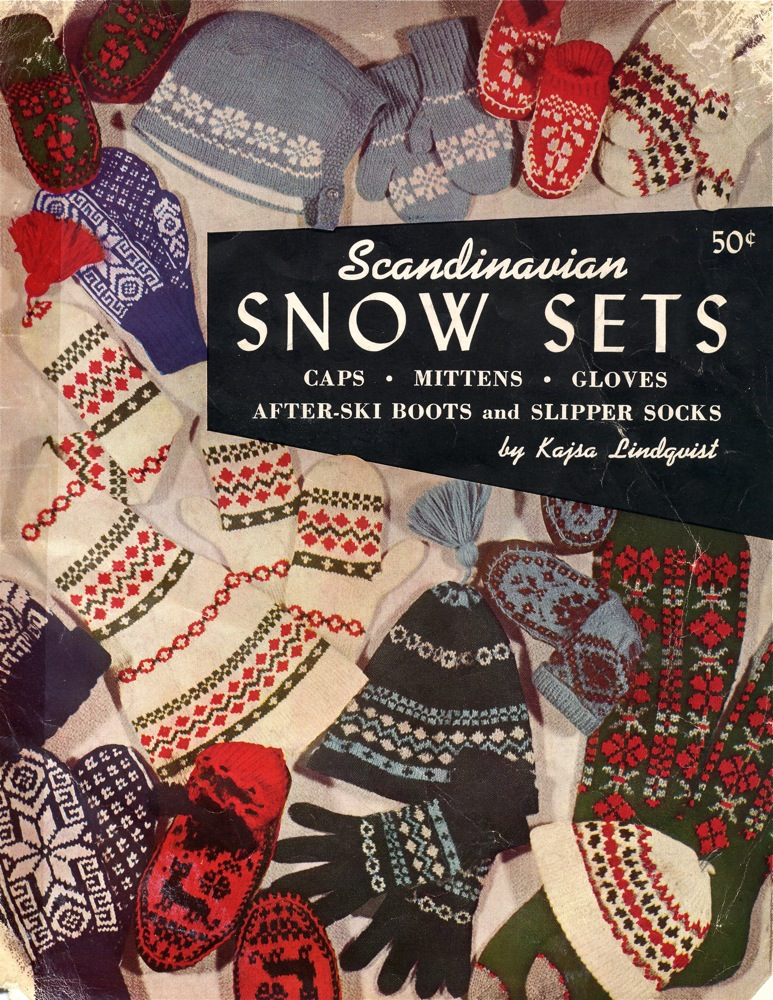 Vintage Knits: Scandinavian Snow Sets | The Chawed Rosin