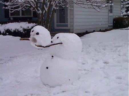 Headless snowman 1