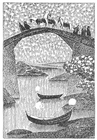 Horses and bridge 2