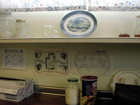 Sprague senior center kitchen