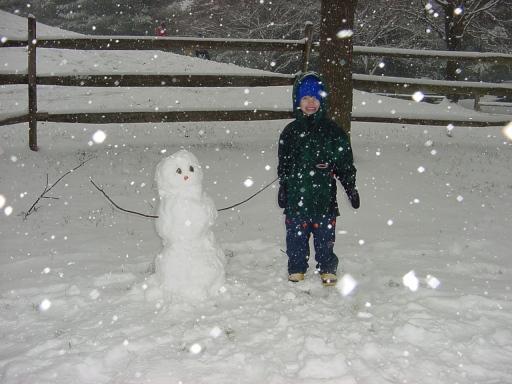 Short snowman