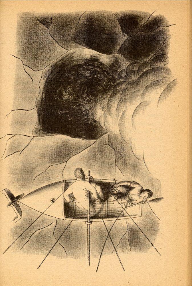 William Pene Du Bois Illustrations For The 21 Balloons
