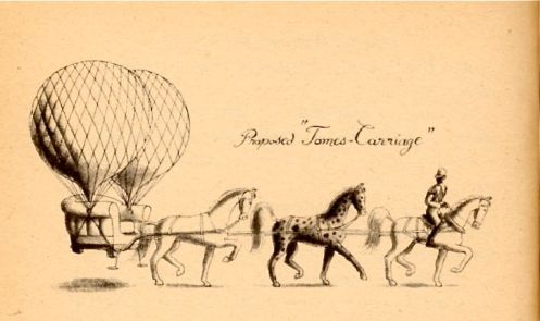 Balloon carriage