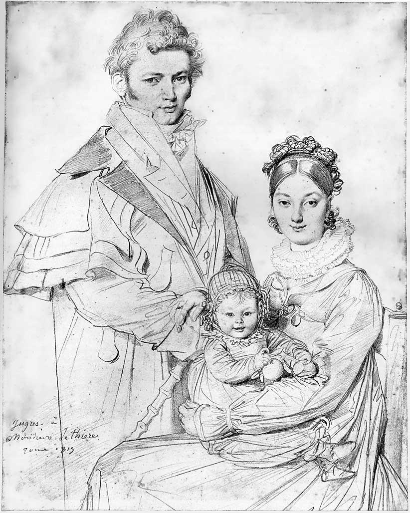 Lethier family portrait