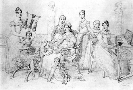 Bonaparte family portrait