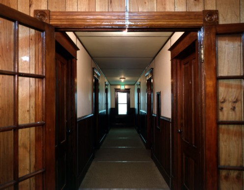 Pedicord hallway