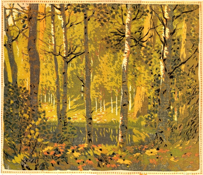 Gustave Baumann S Woodblock Prints Looky