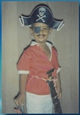 This controversial image of the young Barack Obama caused consternation among ninja voters.