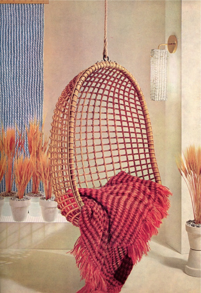 Vintage Knits: 1960S Home Decor | The Chawed Rosin
