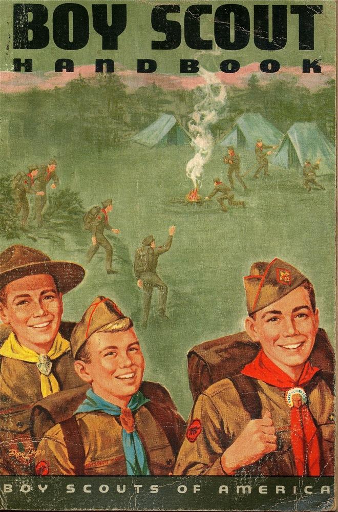 1965 Boy Scout Handbook  The Chawed Rosin