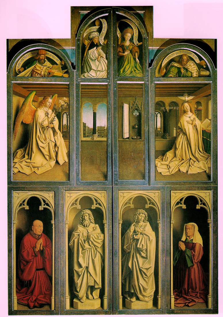 ghent altarpiece The ghent altarpiece is one of the world's most famous — and most frequently stolen paintings not bad for a monumental work of art that's the size of a.