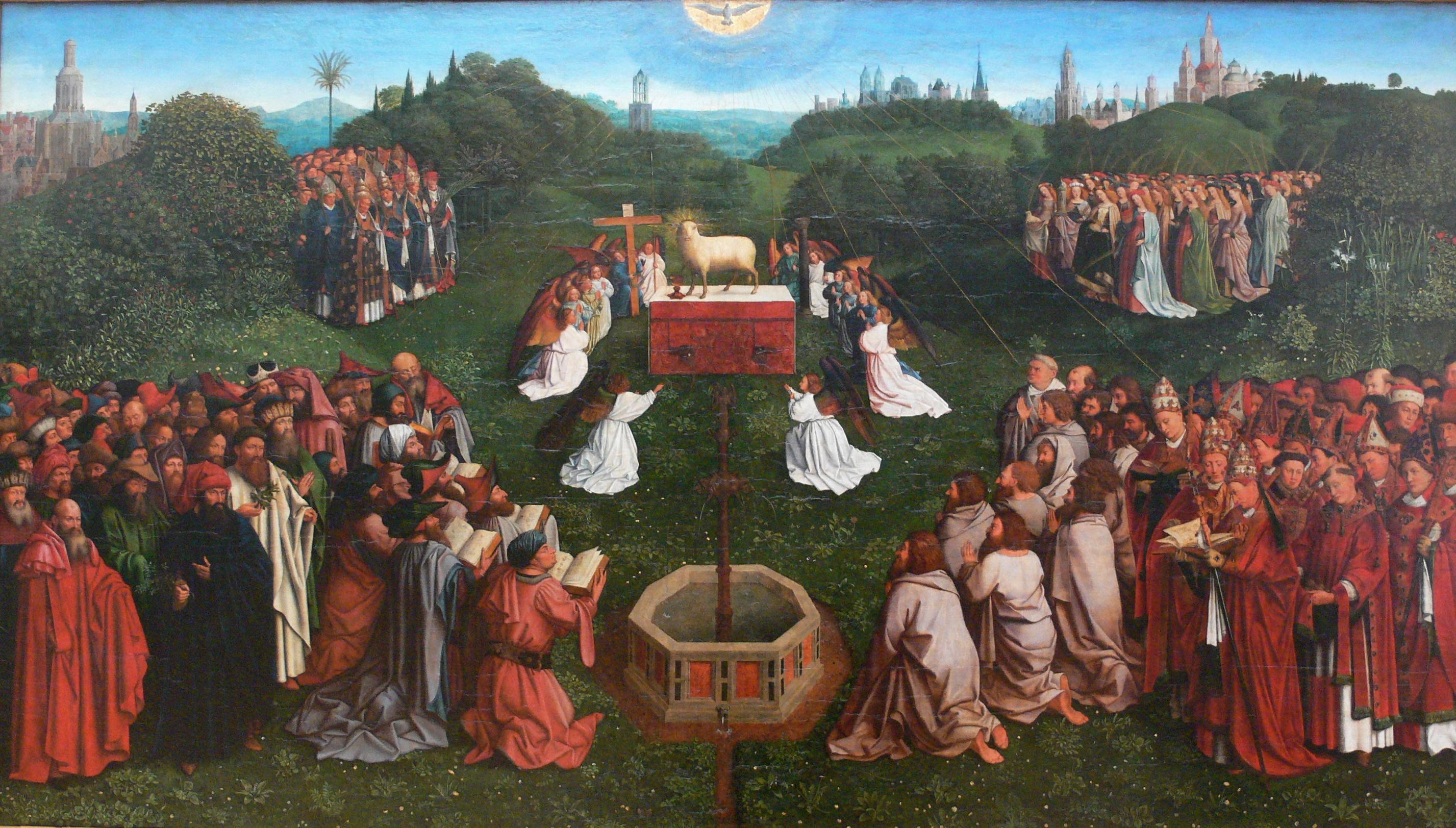 biographies of jan van eyck and hubert van eyck Hubert van eyck (maaseik, 1366 circa – gand, 18 settembre 1426) è stato un pittore fiammingo fratello di jan van eyck, si tratta di una figura semileggendaria, che sarebbe oggi completamente sconosciuta se non fosse per l'iscrizione elogiativa nella cornice del polittico dell'agnello mistico, in cui se ne esalta la bravura, anche in.