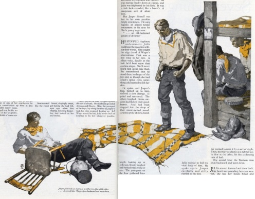 second illustration for The Tall Ladder by Saul Tepper