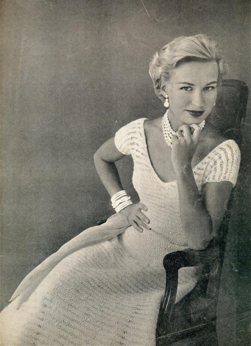 50s lace dress581