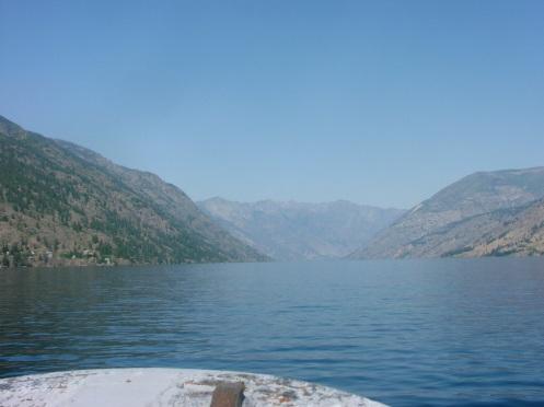 Lake ahead