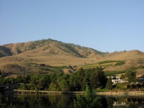 Lake Chelan orchards