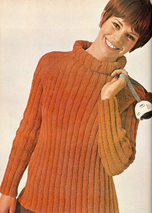 Ribbed turtleneck646