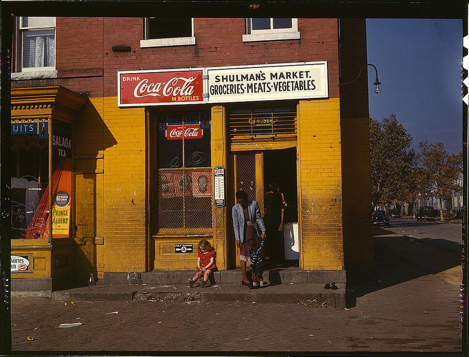Seeing afresh color photos of the great depression the chawed rosin