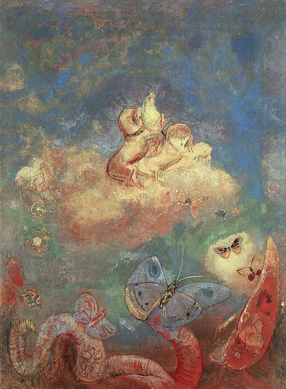 Odilon Redon\'s Butterflies | The Chawed Rosin