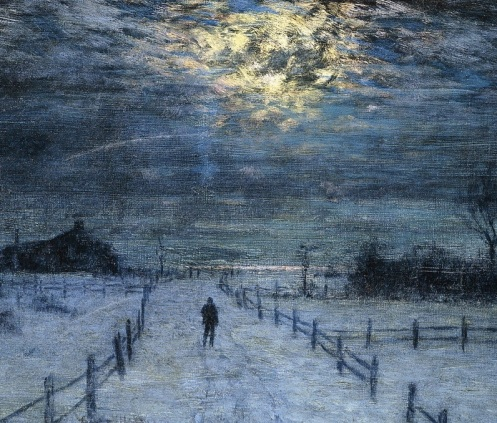 A Wintry Walk, by Lowell Birge Harrison