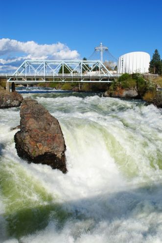 Spokane river