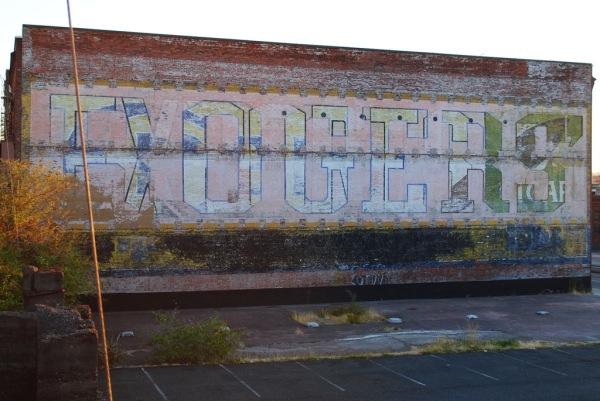 Pentimento graffiti