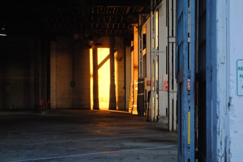 Warehouse sunrise