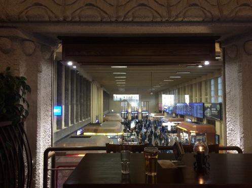 Railway station pub