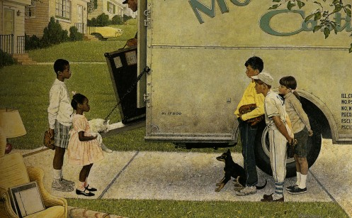 Moving Day, by Norman Rockwell