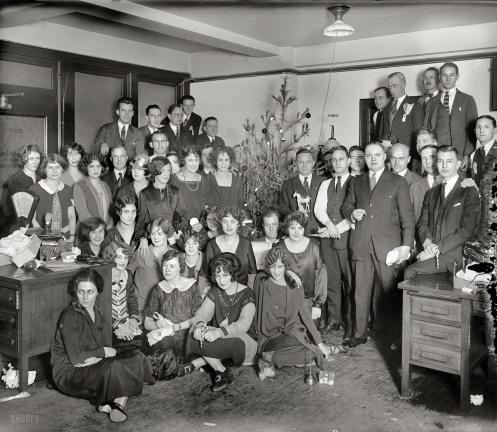 Shorpy's Christmas party photo