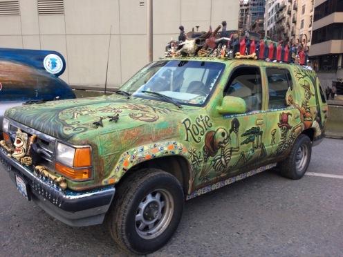 Rosie art car