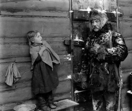 FayeMcKenzie in the silent film 'Abaraham Lincoln'