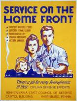 Service on the home front